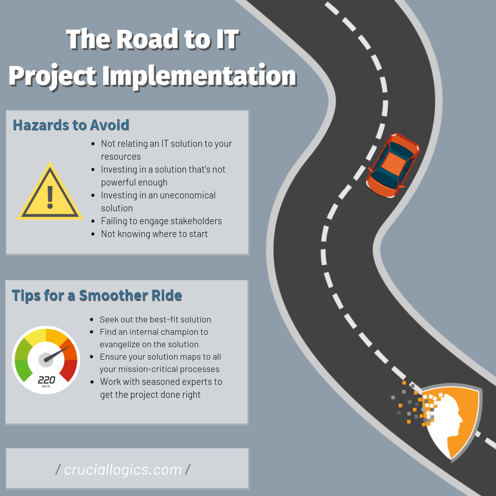 Road map to an IT project implementation